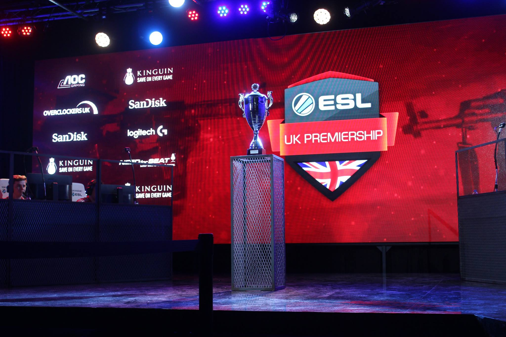 Eyes on the prize. The ESL UK EPS Finals trophy - Photo by UKCSGO.com