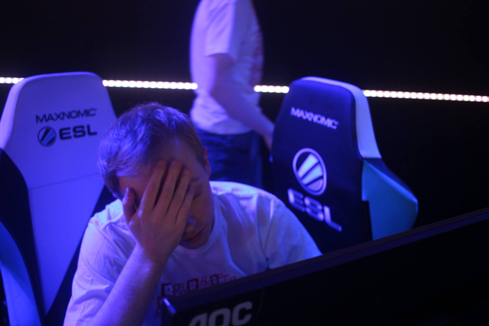 So close, yet so far as a long day comes to an end - Photo by UKCSGO.com